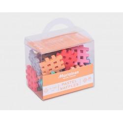 MARIOINEX Klocki Mini Wafle Pastelowe 35 el. 90367