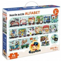 CzuCzu Duuuże Puzzle 48 Elementów ALFABET 6285736