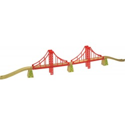 Bigjigs Toys - BJT136 - Podwójny Most Wiszący - do Kolejek Drewnianych