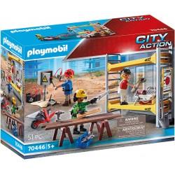 PLAYMOBIL City Action 70446 ROBOTNICY Z RUSZTOWANIEM