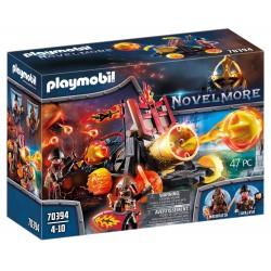 PLAYMOBIL Novelmore 70394 KULE Z LAWY WOJOWNIKÓW BURNHAM