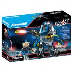 PLAYMOBIL Galaxy Police ROBOT POLICYJNY 70021