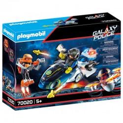 PLAYMOBIL Galaxy Police MOTOR POLICYJNY 70020