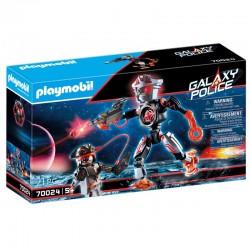 PLAYMOBIL Galaxy Police ROBOT PIRATÓW 70024