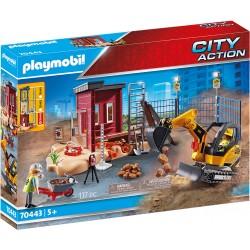 PLAYMOBIL City Action 70443 MAŁA KOPARKA Z ELEMENTEM KONSTRUKCYJNYM
