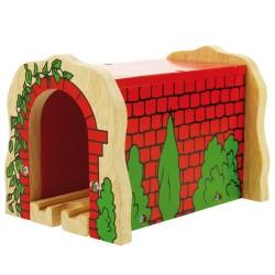 Bigjigs Toys - BJT135 -Tunel Ceglany - do Kolejek Drewnianych