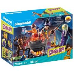 PLAYMOBIL Scooby-Doo! 70366 PRZYGODA W KOTLE CZAROWNICY
