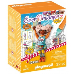 PLAYMOBIL Ever Dreamerz Comic World 70476 FIGURKA EDWINA Seria 2