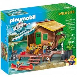 PLAYMOBIL Wild Life 9320 URLOP W DOMKU NAD JEZIOREM