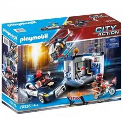 PLAYMOBIL City Action 70326 Policja z Helikopterem
