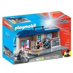 PLAYMOBIL City Action 5689 Przenośny Komisariat Policji