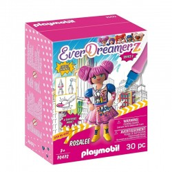 PLAYMOBIL Ever Dreamerz Comic World 70472 FIGURKA ROSALEE Seria 2