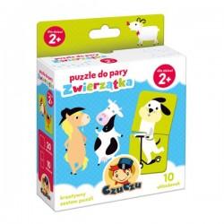 CzuCzu Puzzle Do Pary ZWIERZĄTKA 490685