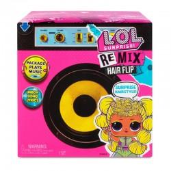 L.O.L SURPRISE Laleczka Remix Hair Flip z Muzyką + Niespodzianki 566977