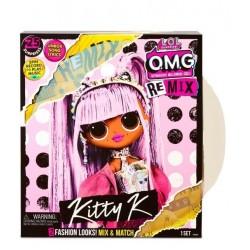 L.O.L SURPRISE O.M.G. Remix Lalka Kitty K + Akcesoria 567240
