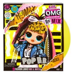L.O.L SURPRISE O.M.G. Remix Lalka Pop B.B. + Akcesoria 567257