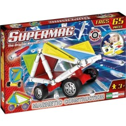 SUPERMAG Magnetyczne Klocki Konstrukcyjne 65 Elementów 0182