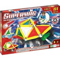 SUPERMAG Magnetyczne Klocki Konstrukcyjne 81 Elementów 0183