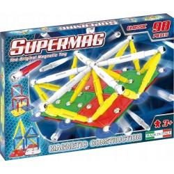 SUPERMAG Magnetyczne Klocki Konstrukcyjne CLASSIC 98 Elementów 0402