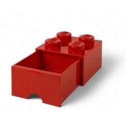 LEGO Pojemnik 4 na Zabawki z Szufladą CZERWONY 9418