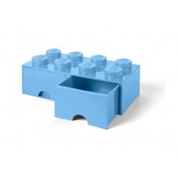 LEGO Pojemnik 8 na Zabawki z Szufladą BŁĘKITNY 9562