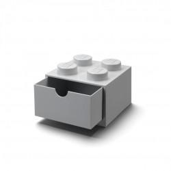 LEGO Pojemnik 4 SZUFLADKA NA BIURKO Szara 2005