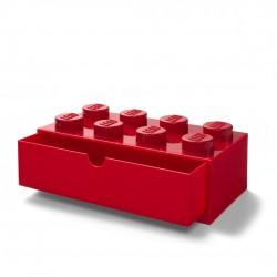 LEGO Pojemnik 8 SZUFLADKA NA BIURKO Czerwona 2012