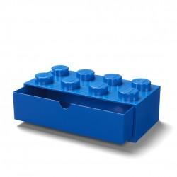 LEGO Pojemnik 8 SZUFLADKA NA BIURKO Niebieska 2029