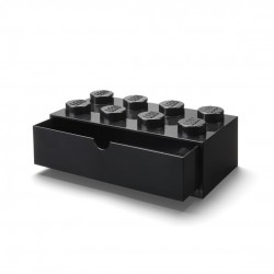 LEGO Pojemnik 8 SZUFLADKA NA BIURKO Czarna 2036