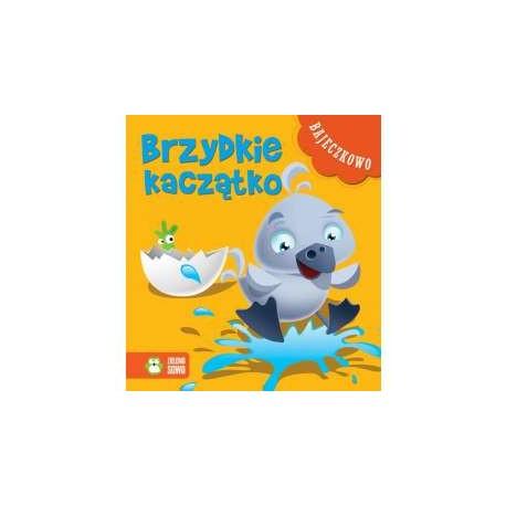 Zielona Sowa - 8338 - Książeczki dla Dzieci - Książeczka z Bajkami - Bajeczkowo - Brzydkie Kaczątko
