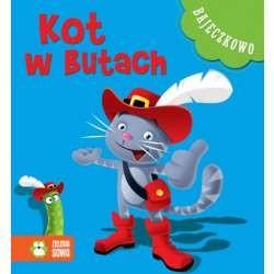 Zielona Sowa - 8321 - Książeczki dla Dzieci - Książeczka z Bajkami - Bajeczkowo - Kot w Butach