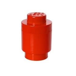LEGO Pojemnik 1 na Zabawki OKRĄGŁY CZERWONY 0011