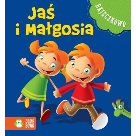 Zielona Sowa - 8291 - Książeczki dla Dzieci - Książeczka z Bajkami - Bajeczkowo - Jaś i Małgosia