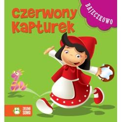 Zielona Sowa - 8284 - Książeczki dla Dzieci - Książeczka z Bajkami - Bajeczkowo - Czerwony Kapturek